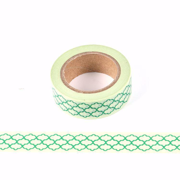 Cloud shape printing washi tape
