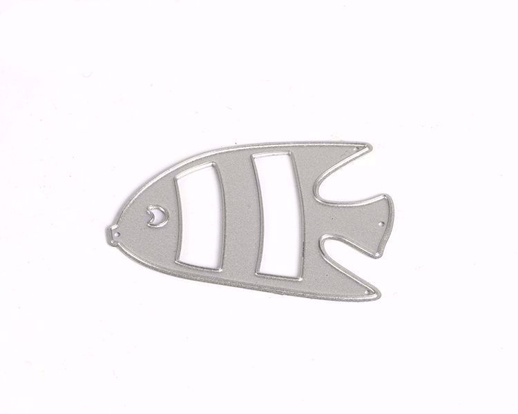 Double fish die cutting