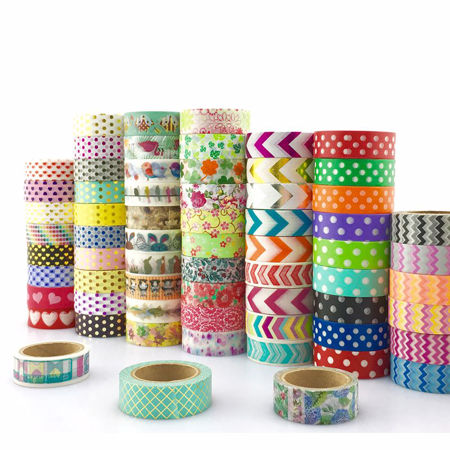 Picture for category Pattern washi tape