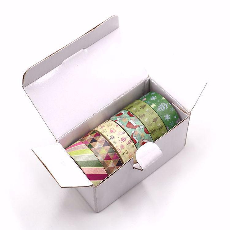 6 rolls christmas style washi tape sets