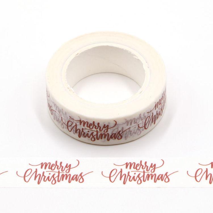 Christmas wardart printing washi tape