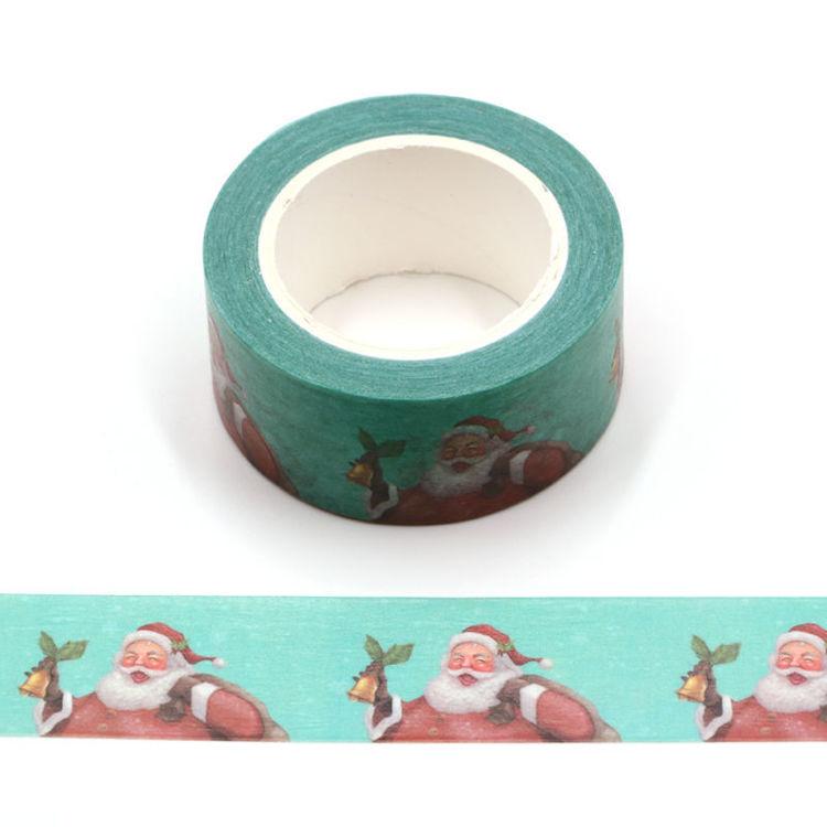 Santa Claus printing washi tape
