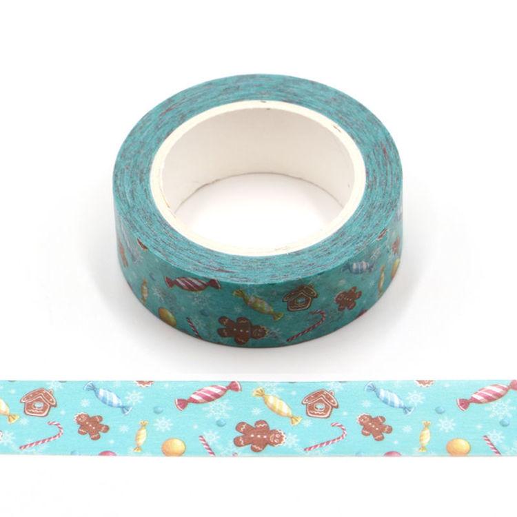Christmas candy printing washi tape