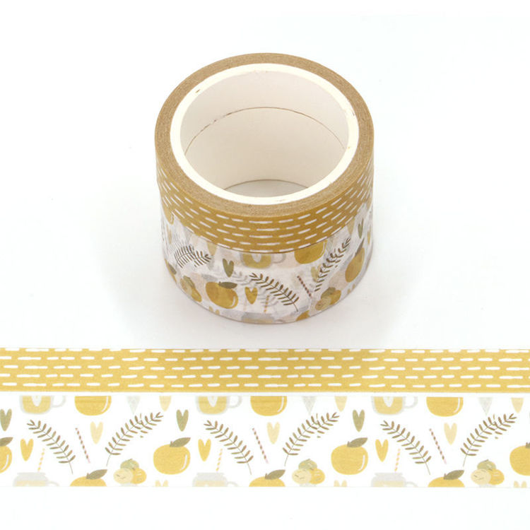 Orange fragrance printing washi tape