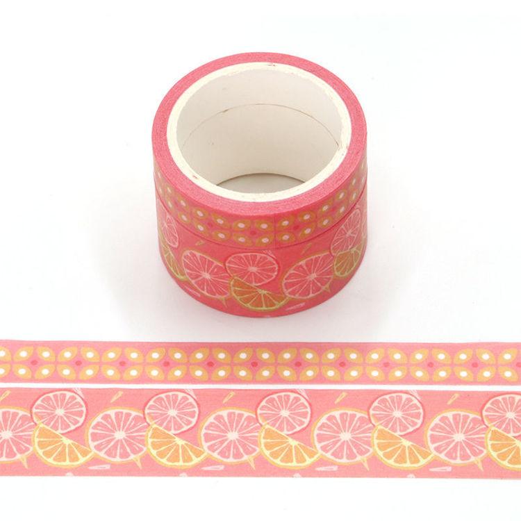 Orange perfume printing washi tape