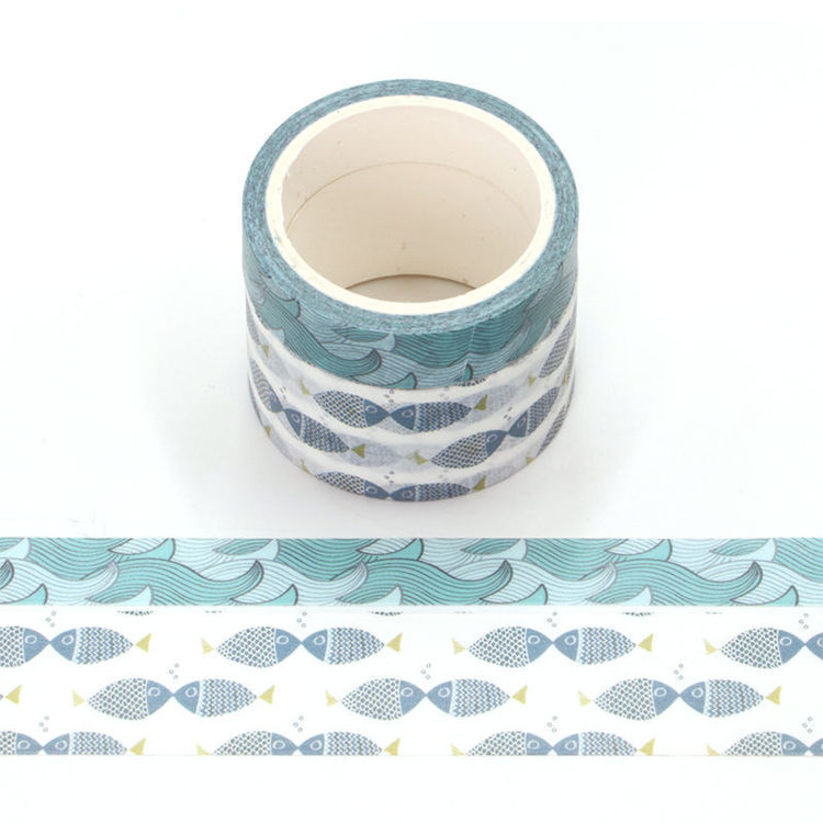 Ocean perfume printing washi tape