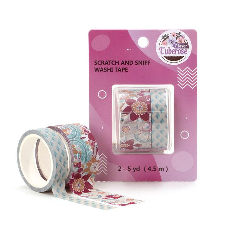 Tuberose perfume washi tape