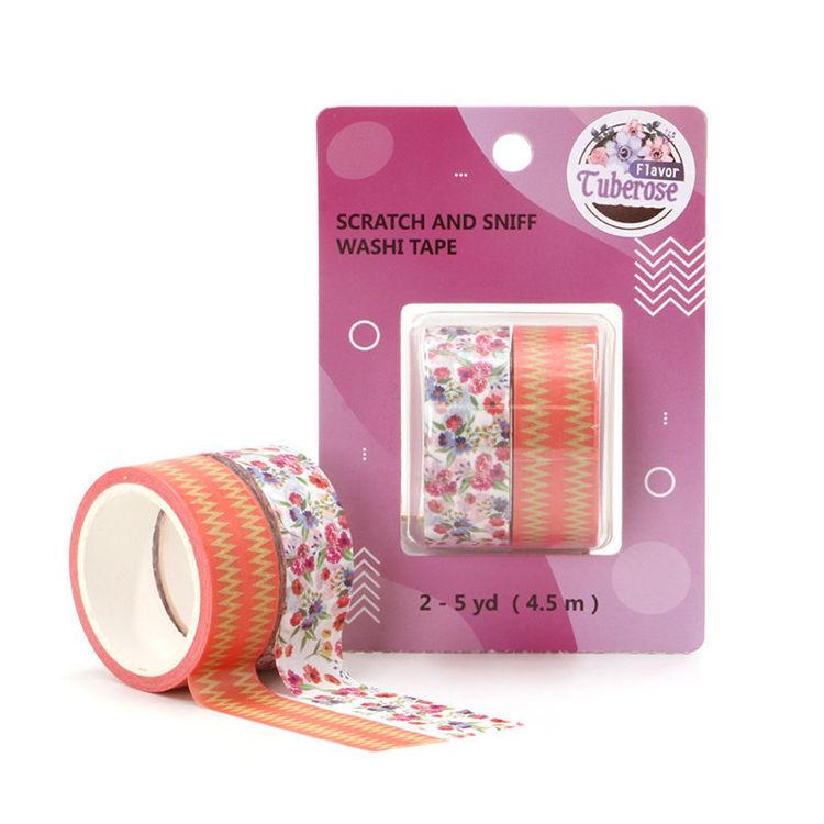 Tuberose scent washi tape