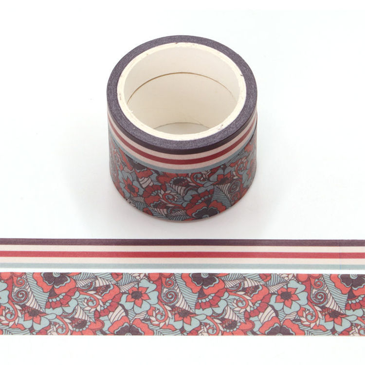 Tuberose flavor washi tape set