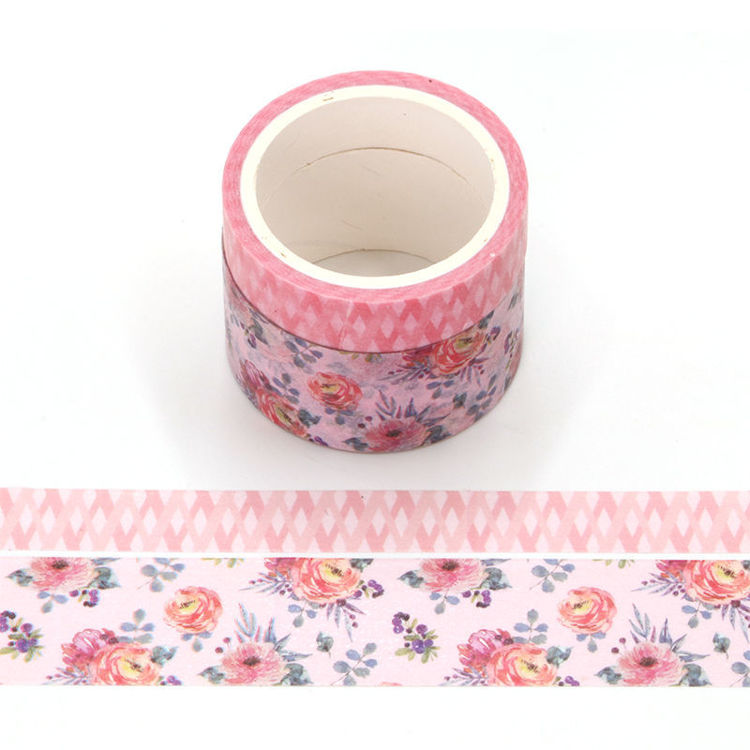 Scent rose washi tape