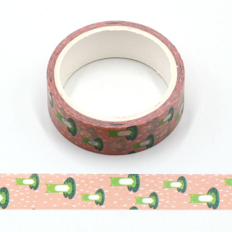 Cartoon style printing washi tape