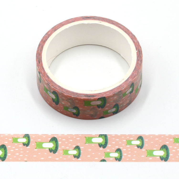Cartoon design fox printing washi tape