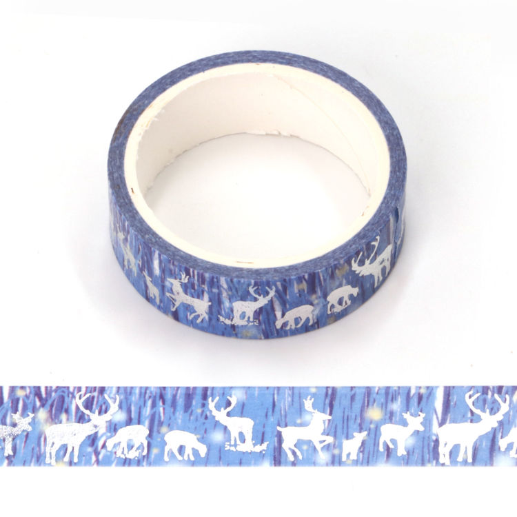 Aurora and elk sliver washi tape