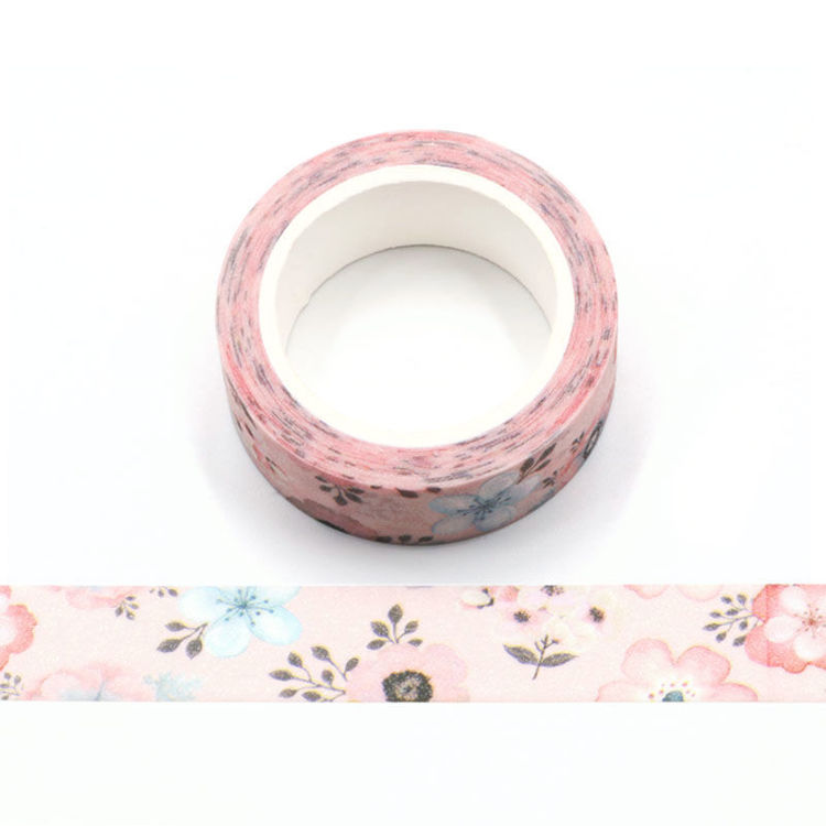 Spring pink flash film washi tape
