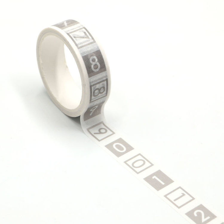 Figure easy tear washi tape