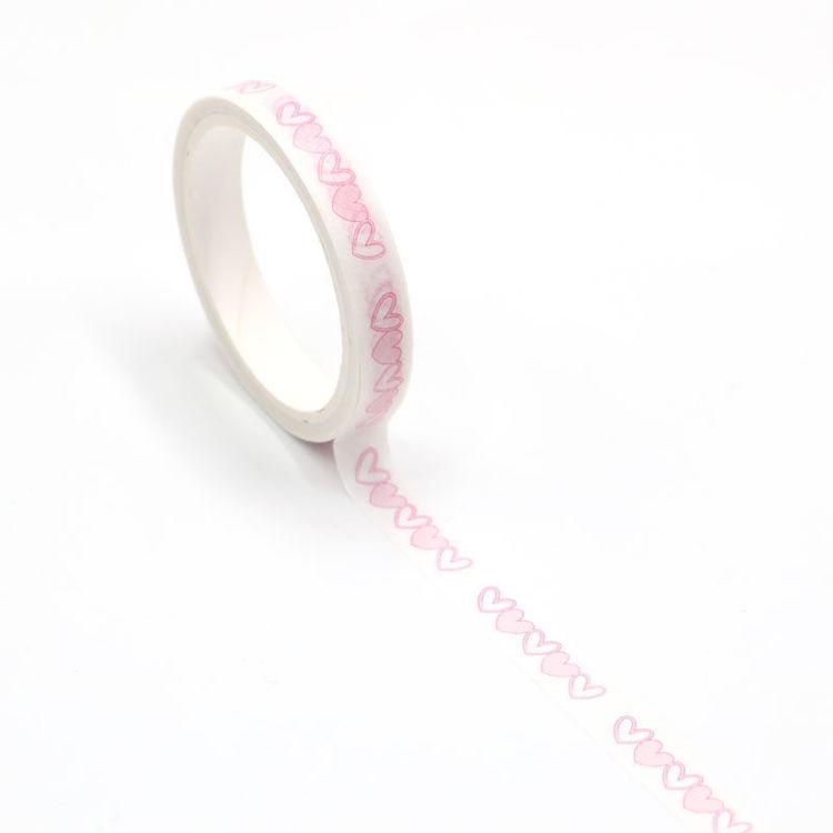 Heart easy tear washi tape