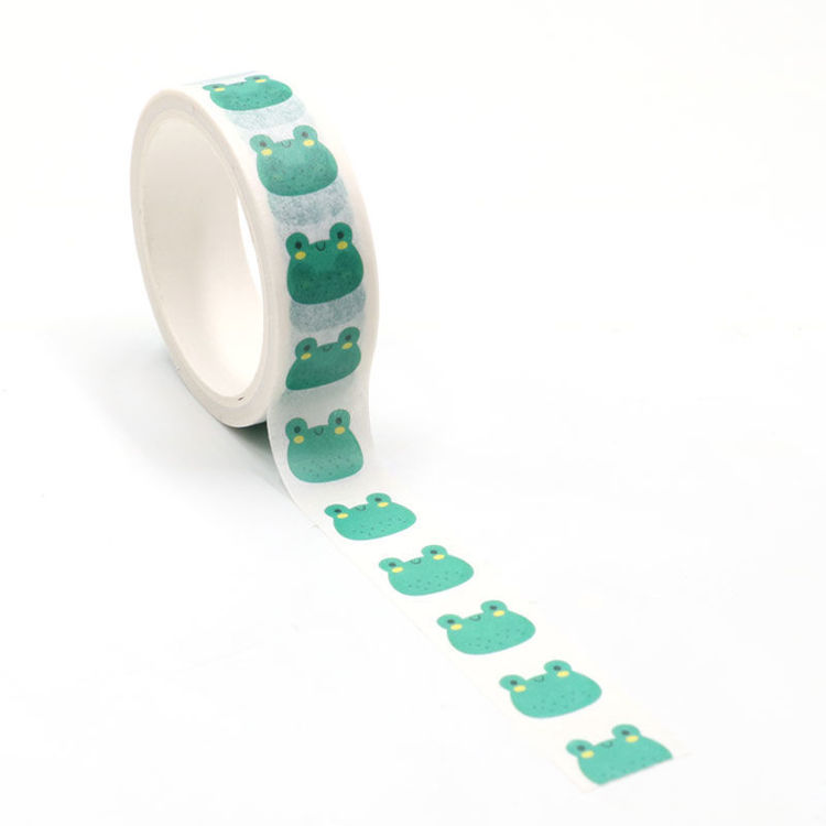 Frogs printing washi tape 15mm*5m