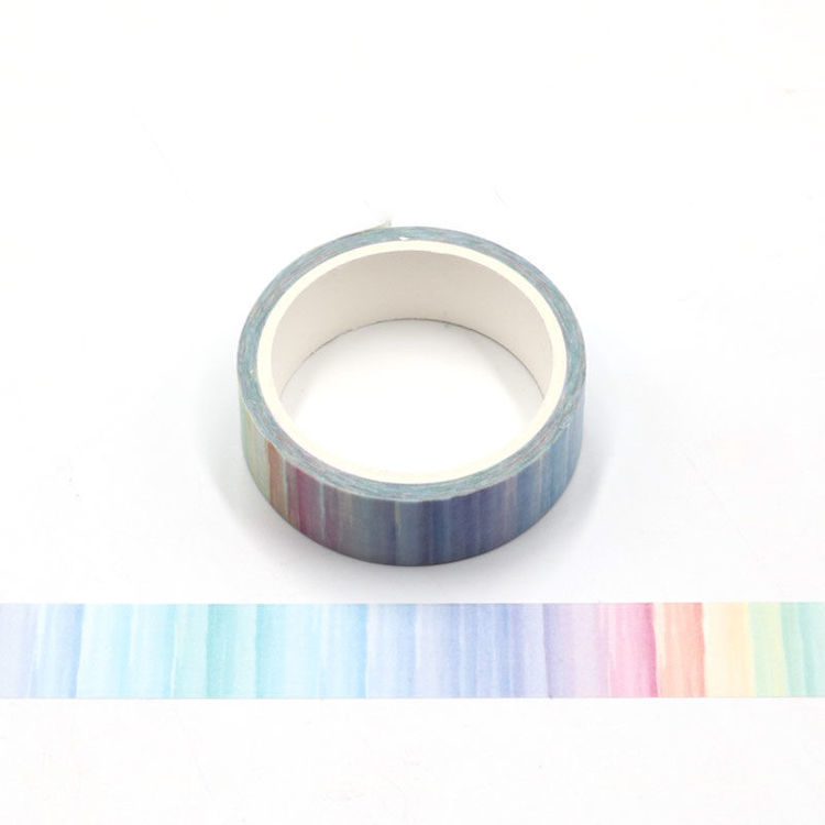 Watercolor printing washi tape 15mm*5m