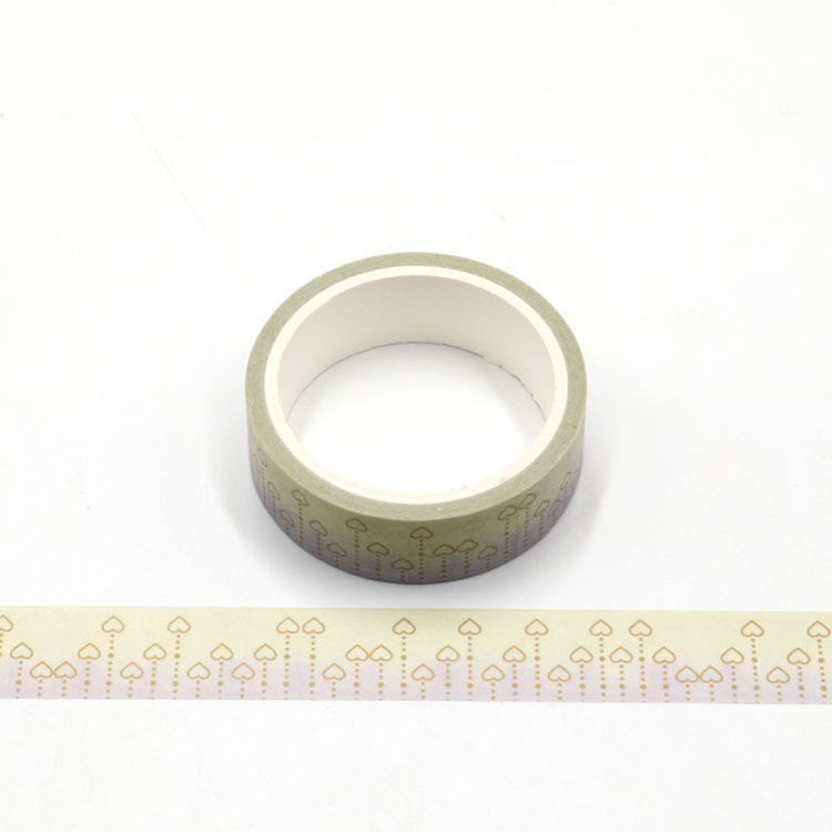Heart printing washi tape