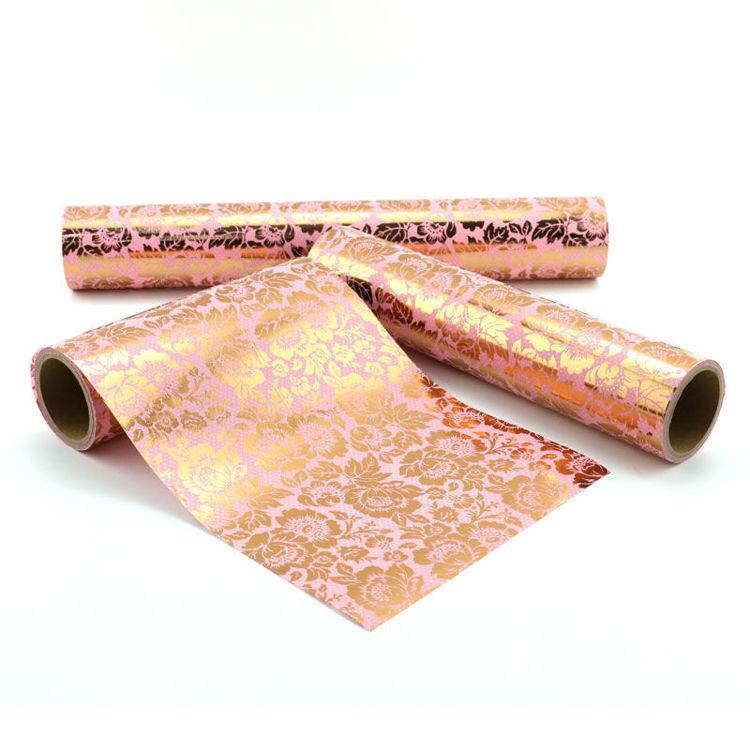 152mm x 5m Peony foil warpping washi tape
