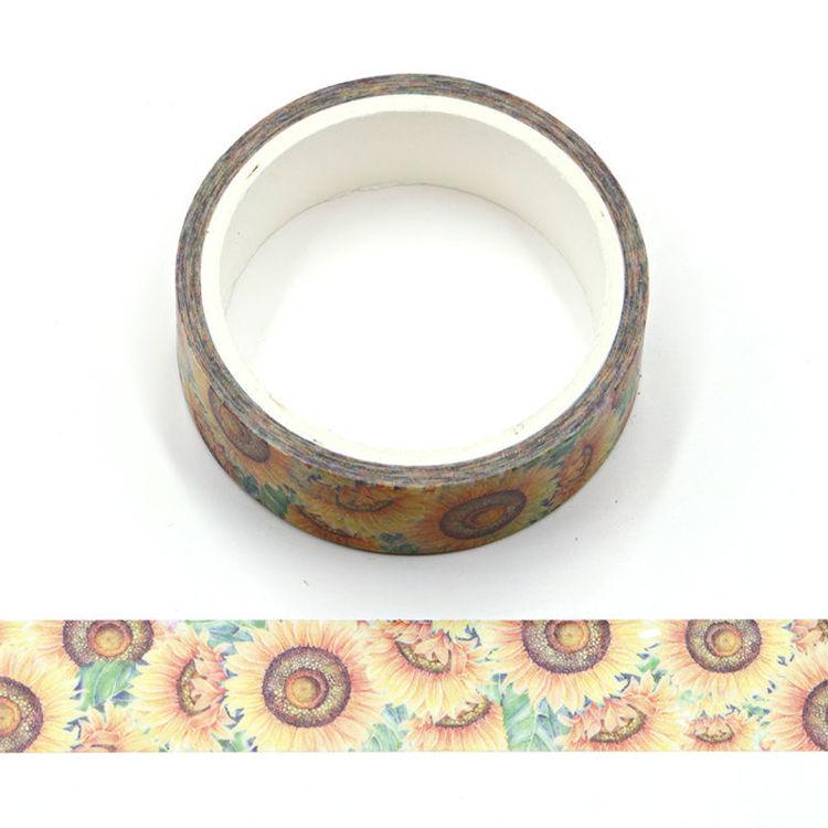 Sunflower Washi Tape