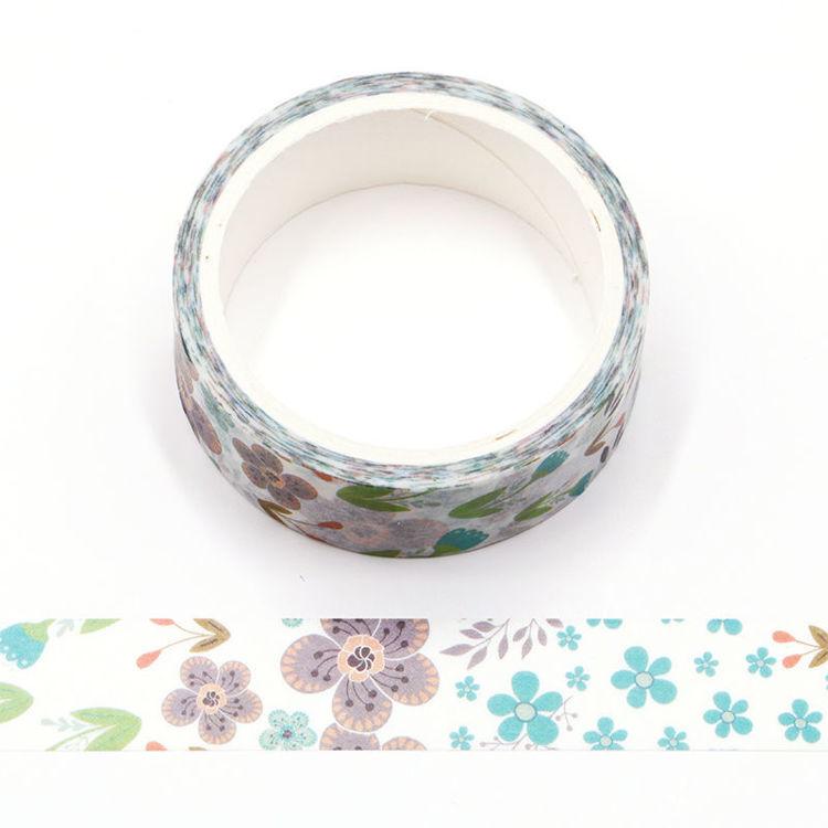 Summer Flower Washi Tape