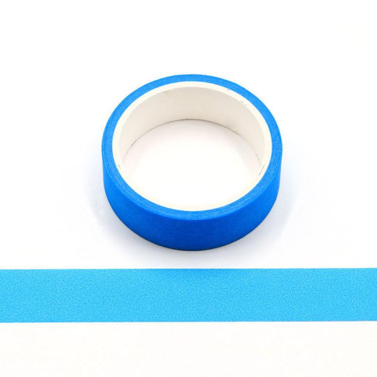 Blue Flourescence Washi Tape