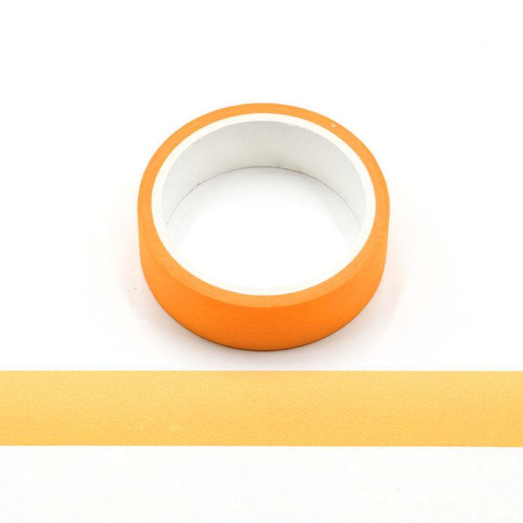 Orange Flourescence Washi Tape