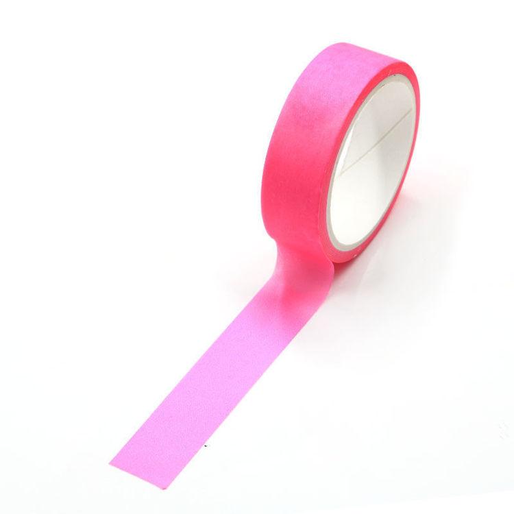 Pink Flourescence Washi Tape