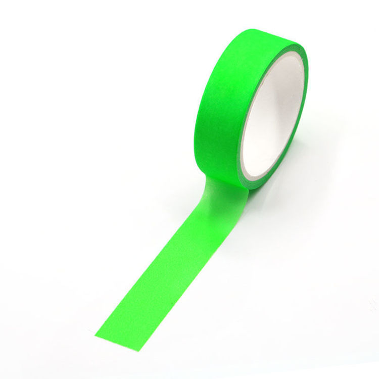 Green Fluorescence Washi Tape