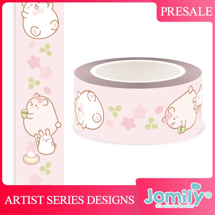 Jomily 20mm x 10m Pink Dessert Washi Tape
