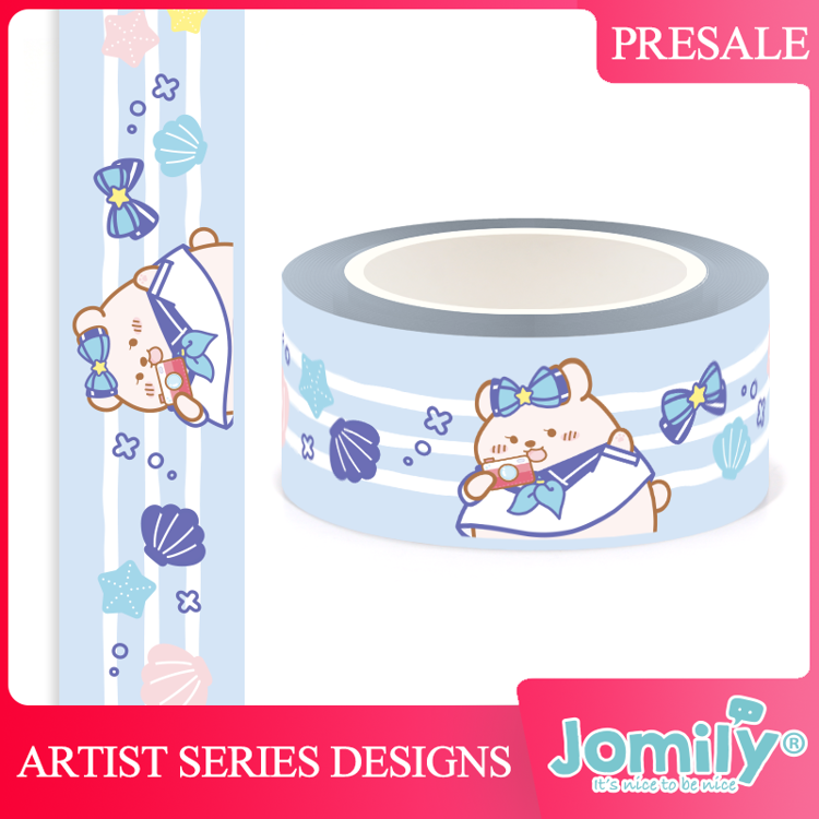 Jomily 20m x 10m Sailor Style Washi Tape