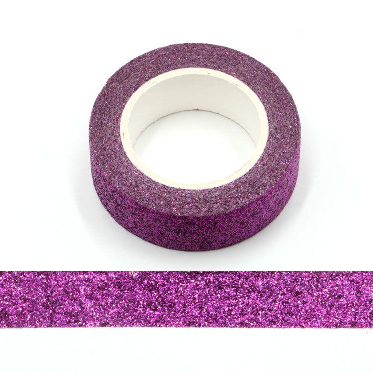 Deep purple Sparkle Washi Tape