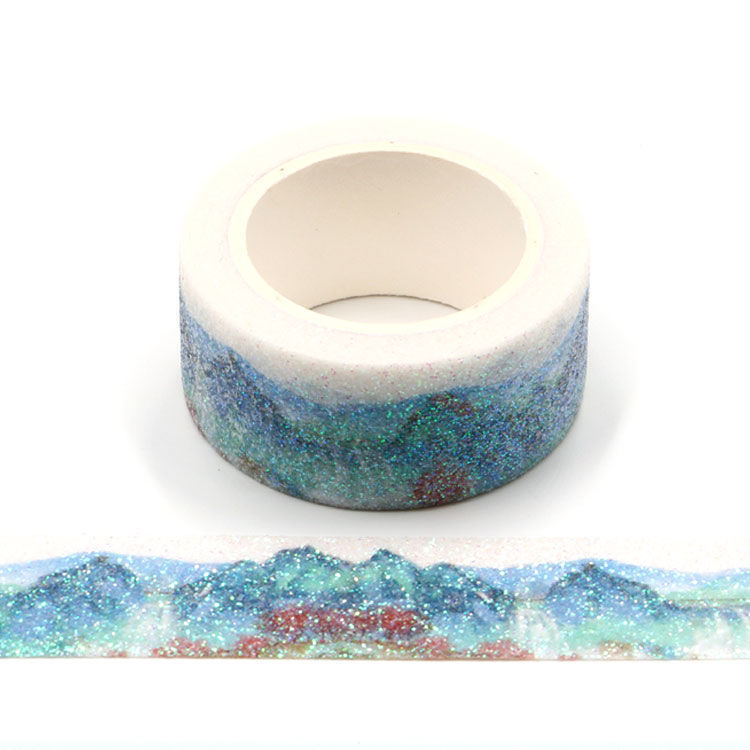 20mm x 3m Chinoserie Sparkle Washi Tape