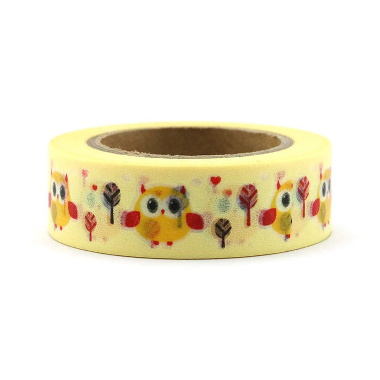 15mm x 10m Cuckoo Bird Washi Tape