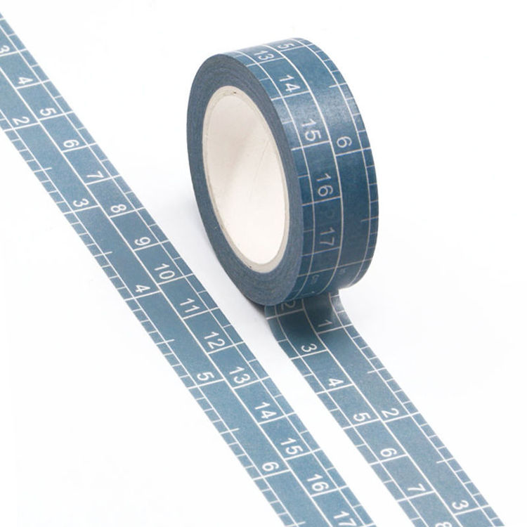 15mm Scale Design Grid Washi Tape