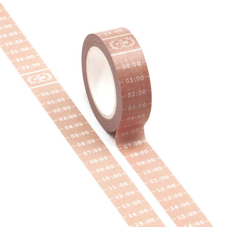 15mm Time Desgin Washi Tape