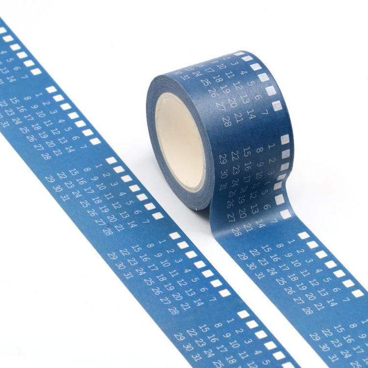 30mm Calendar Design Washi Tape
