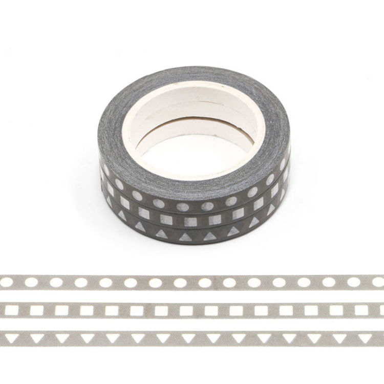 5mm x 3Rolls 10m Shape Design Washi Tape
