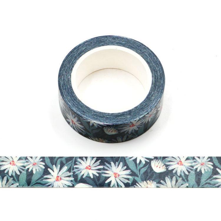 15mm x 10m CMYK Little Daisy Washi Tape
