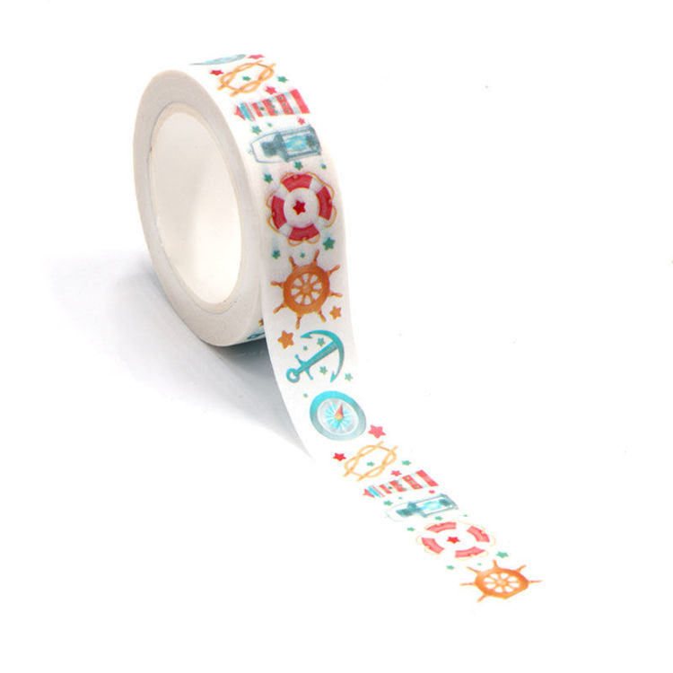 15mm x 10m CMYK Navigation Washi Tape