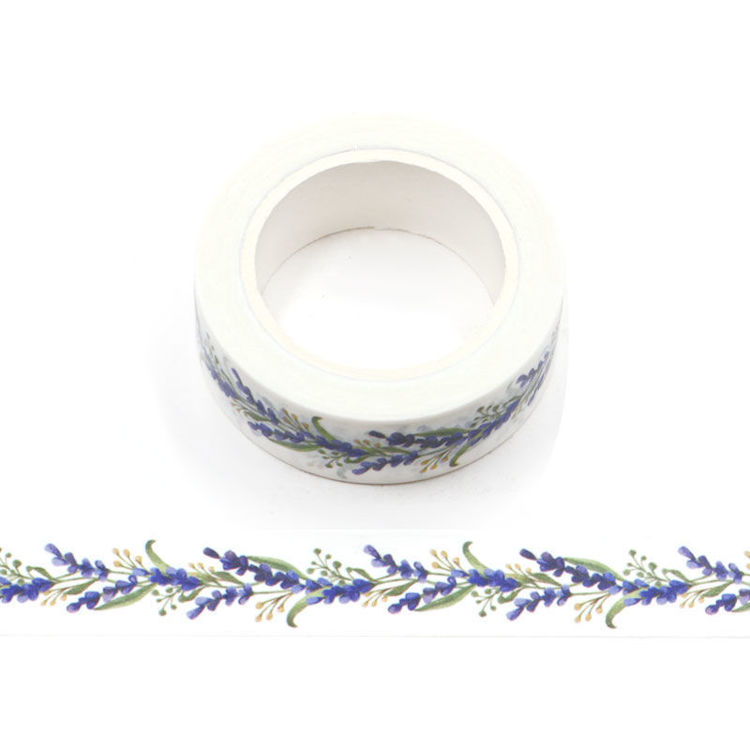 15mm x 10m CMYK Lavender Washi Tape
