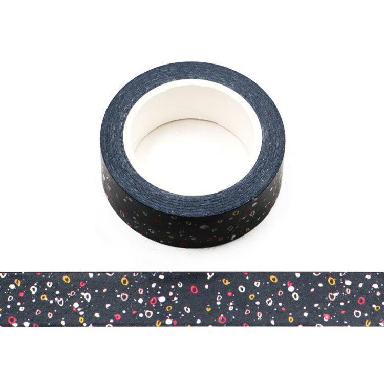 15mm x 10m CMYK Dot Washi Tape