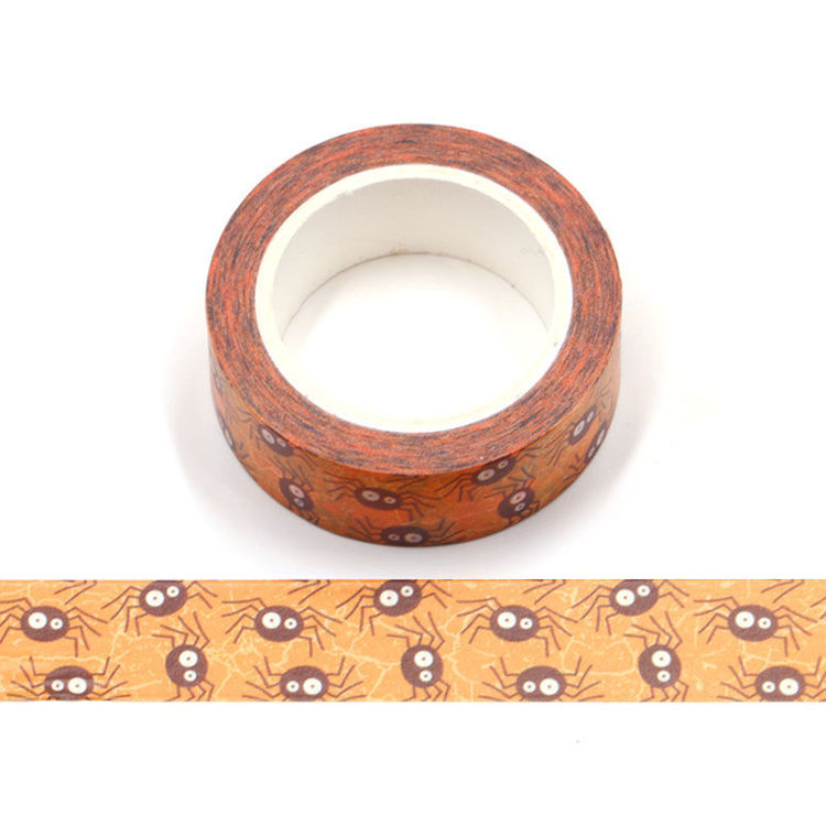 15mm x 10m CMYK Spider Washi Tape