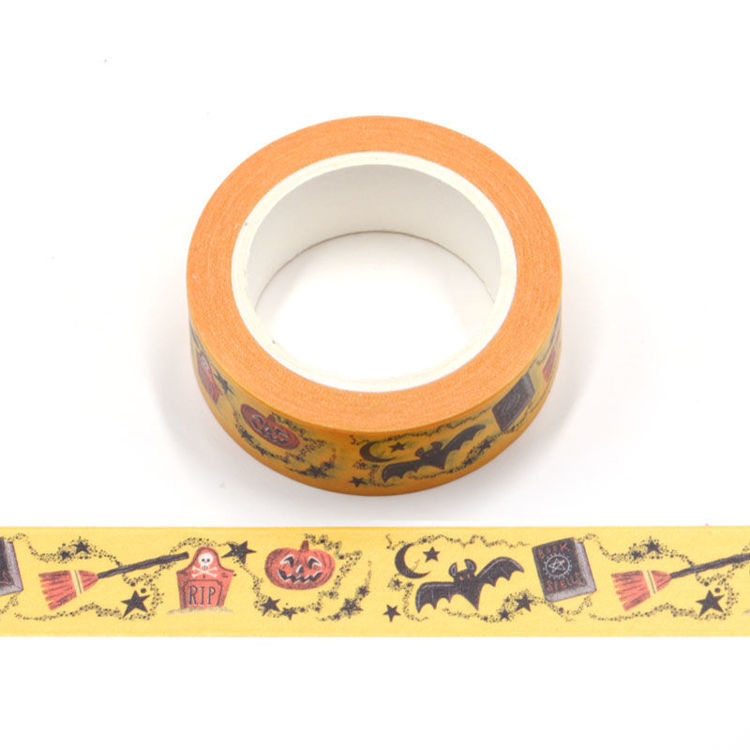 15mm x 10m CMYK All Hallows Eve Washi Tape