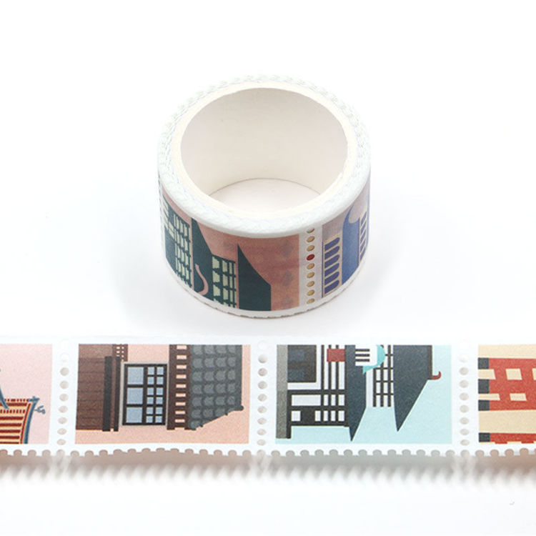 25mm x 3m Japanese Architecture Design Stamp Washi Tape