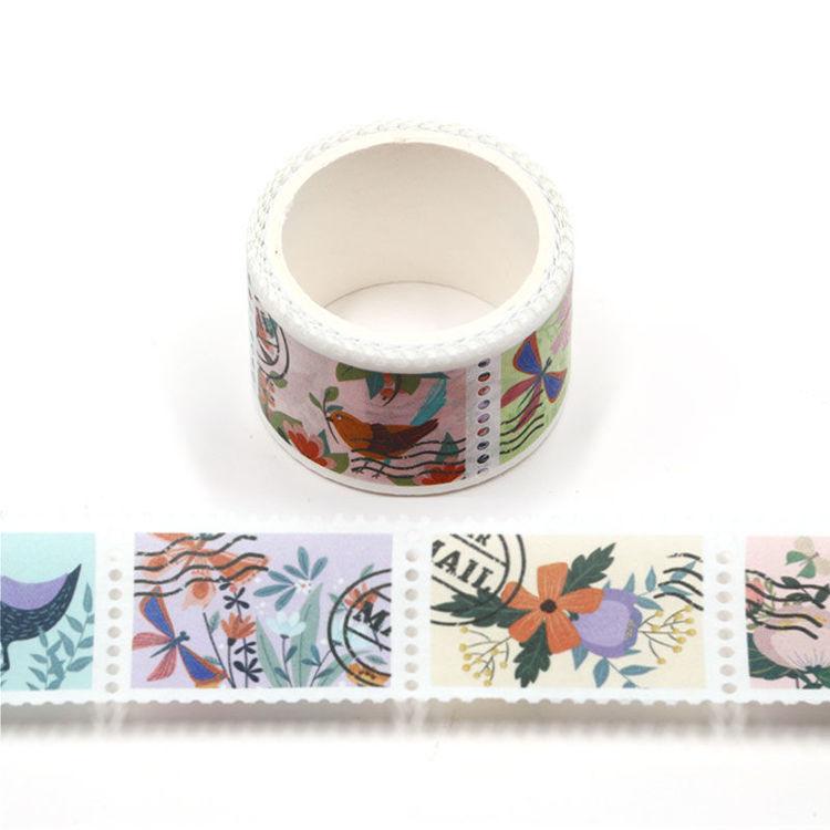 25mm x 3m Tourism Design Stamp Washi Tape
