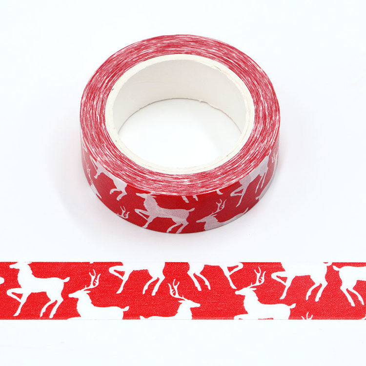 15mm x 10m PMS Reindeer Washi Tape