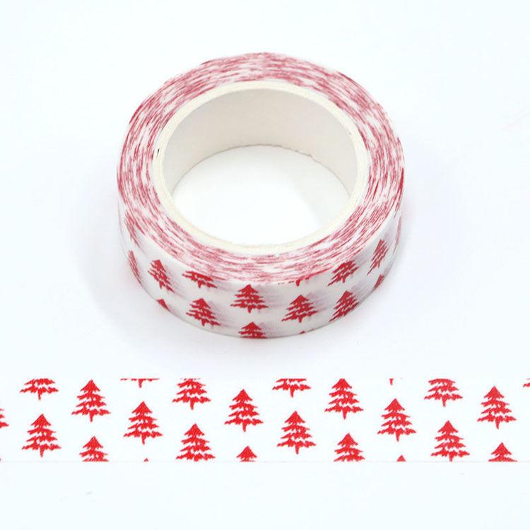 15mm x 10m PMS Christmas Tree Washi Tape