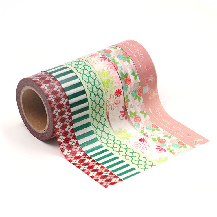 15mm x 10m 6Roll 1set Washi Tape